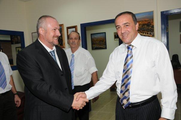 שגריר רומניה בישראל מבקר במכללת הכרמל