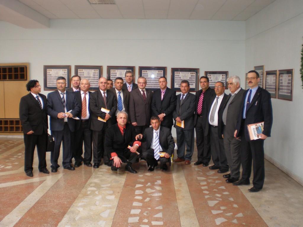 משלחת מכללת הכרמל מבקרת באונ' לרפואה במינסק