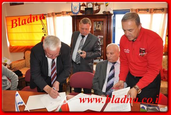 חתימת הסכם לעידוד ההשכלה וקידום קשרי חוץ עם מדינת בילארוס